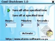 Cool Shutdown