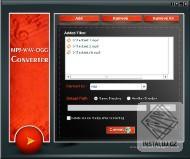 MP3,WAV,OGG Converter