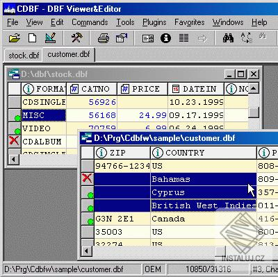 DBF Viewer and Editor