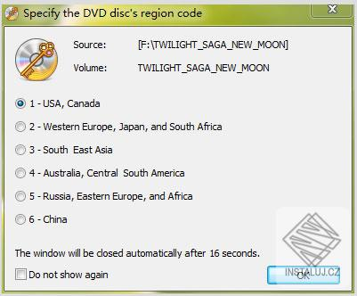 Passkey for DVD
