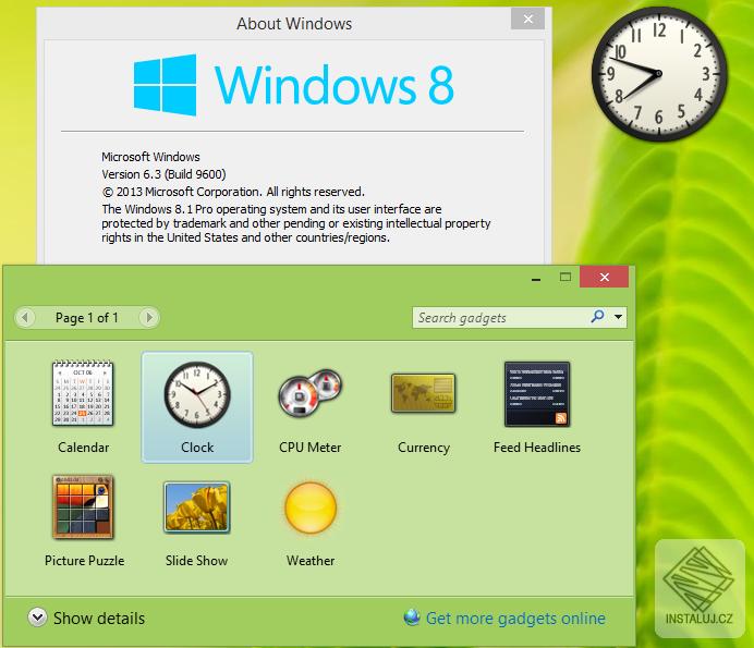 Windows Desktop Gadgets