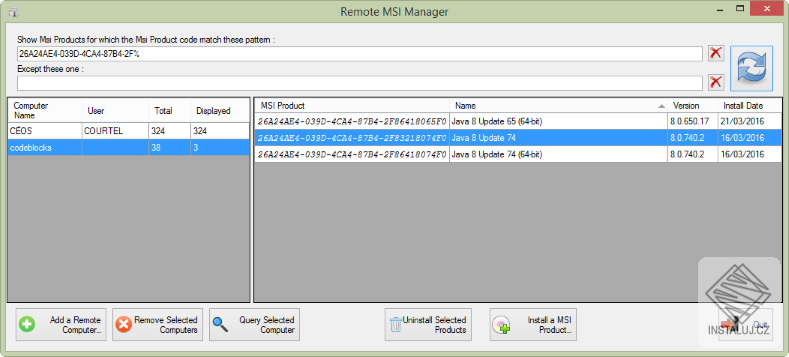 Remote MSI Manager