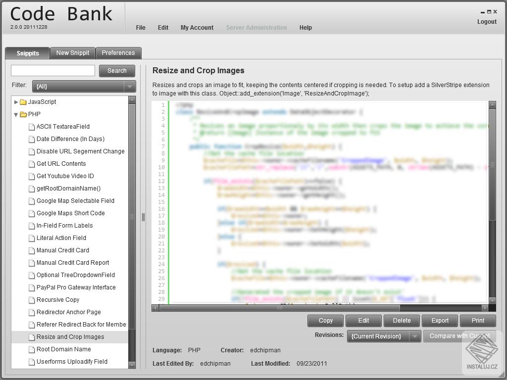 Code Bank