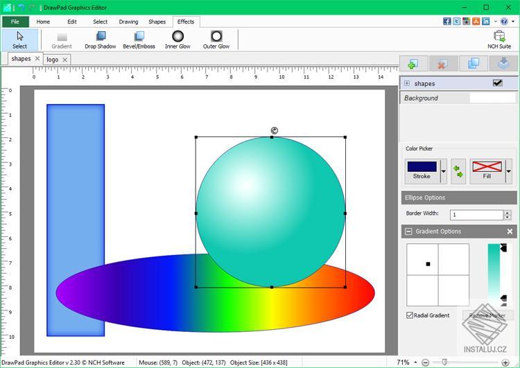 DrawPad Graphic Editor