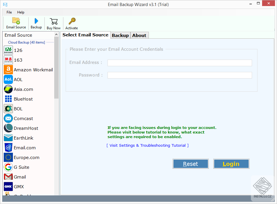 Email Backup Software