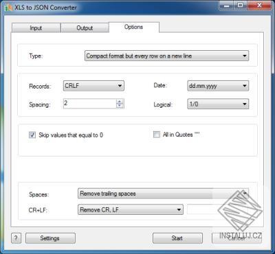 XLS to JSON Converter