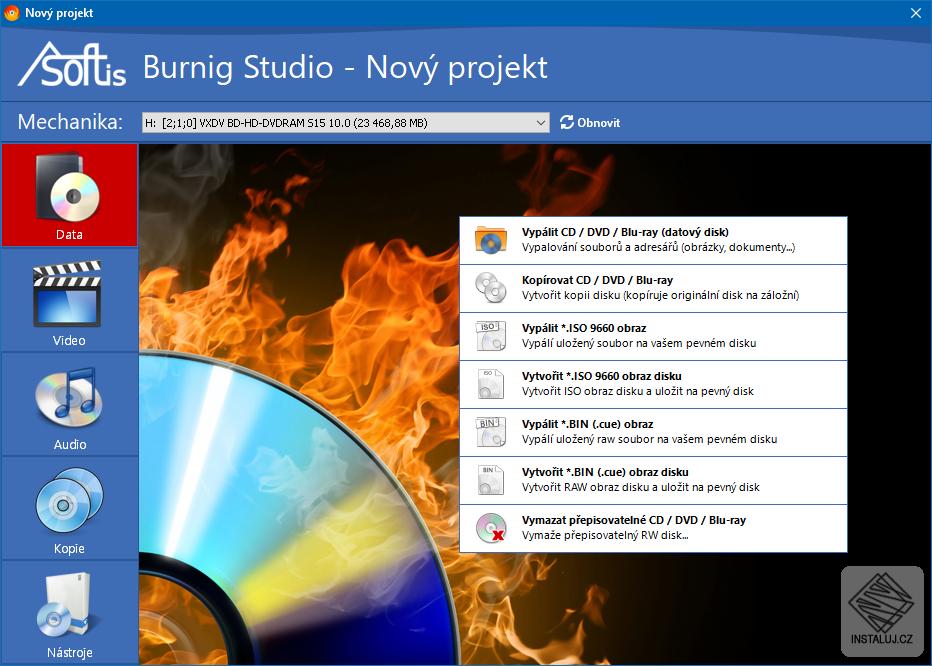 Asoftis Burning Studio