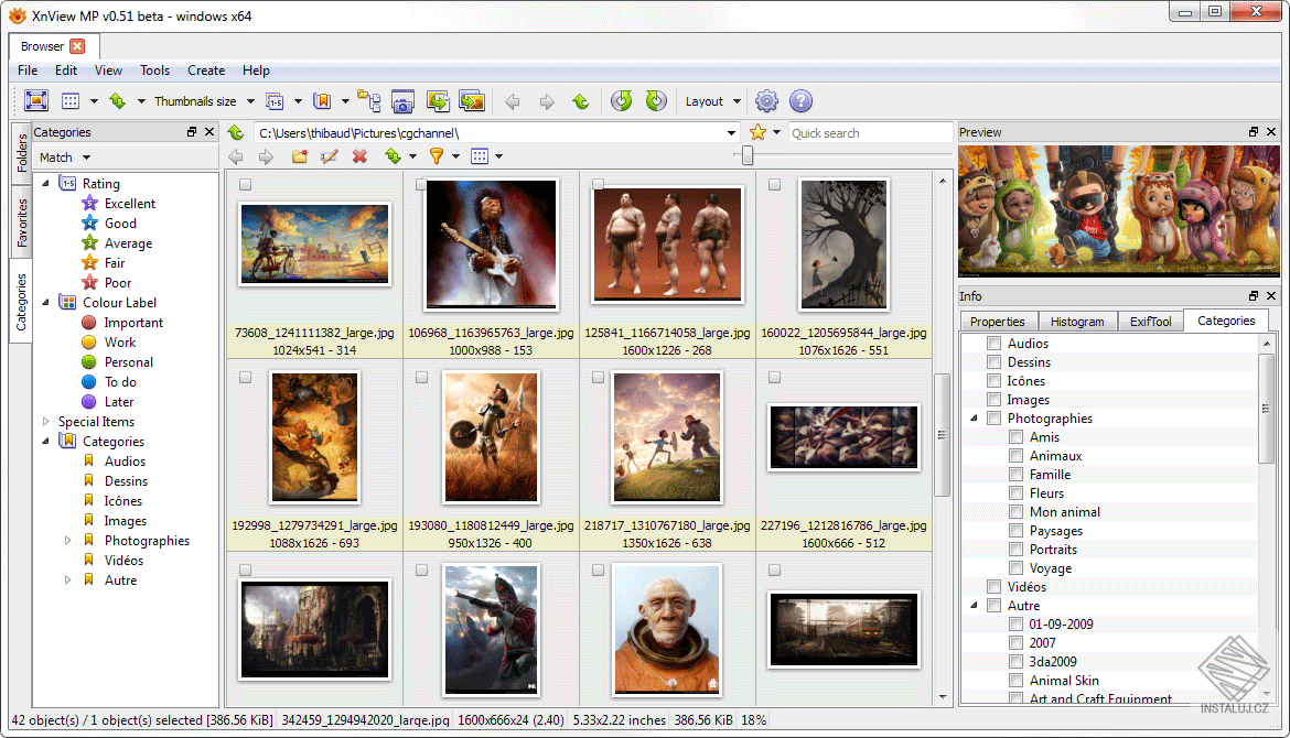 XnView MP for Windows