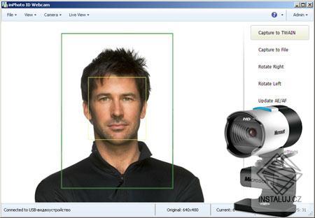 inPhoto ID Webcam
