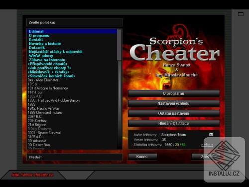 Scorpions WinCheater