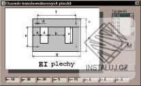 Výpočet transformátoru
