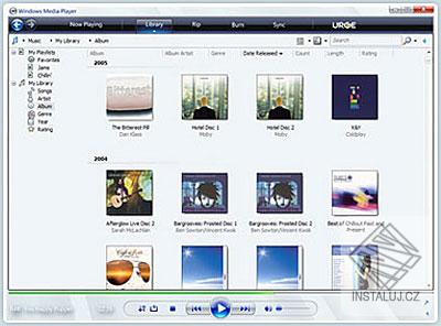 Microsoft Windows Media Player 11 CZ