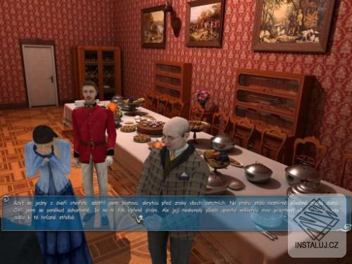 Sherlock Holmes:Silver Earring