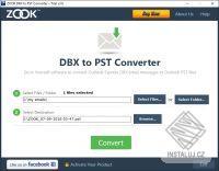 ZOOK DBX to PST Converter